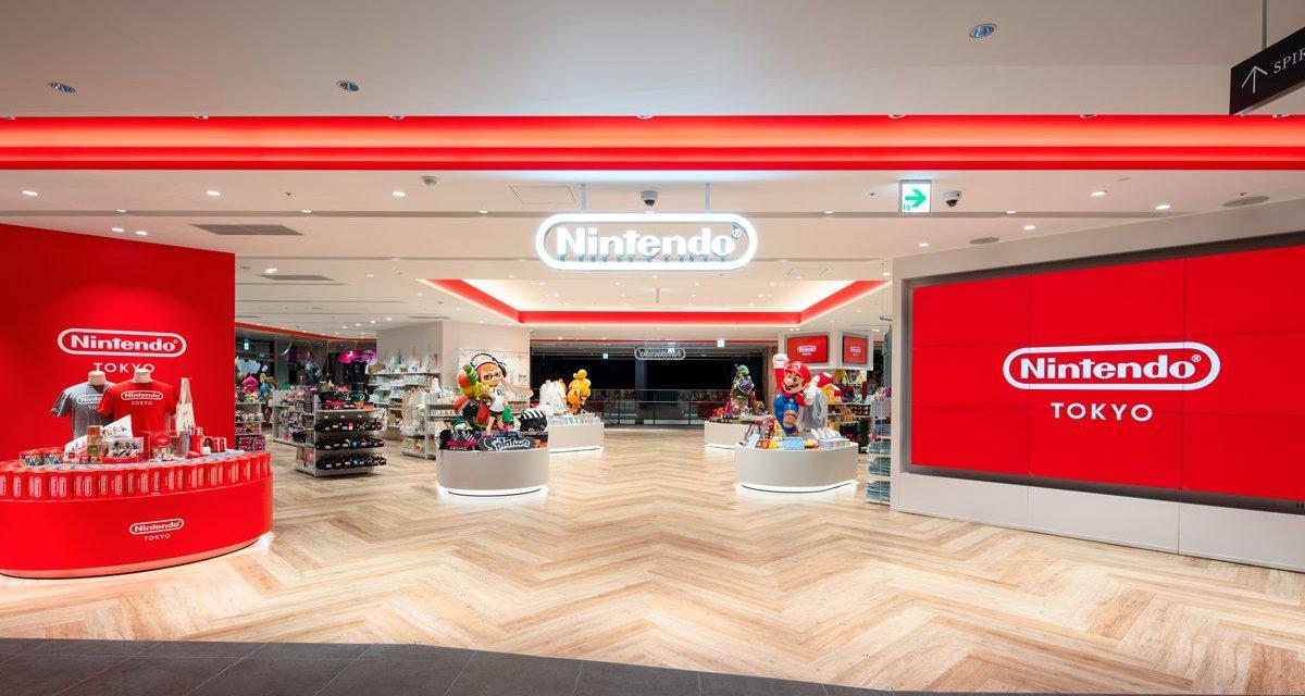 Nintendo Tokyo: aperto ufficialmente lo store