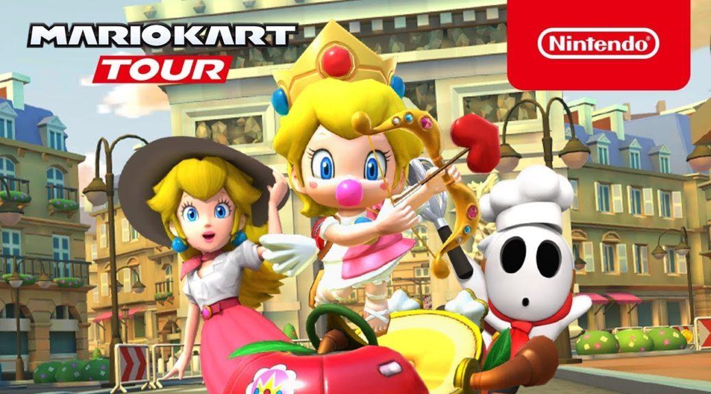 Mario Kart Tour: online l'evento per San Valentino