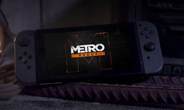 Metro Redux in arrivo ufficialmente su Nintendo Switch