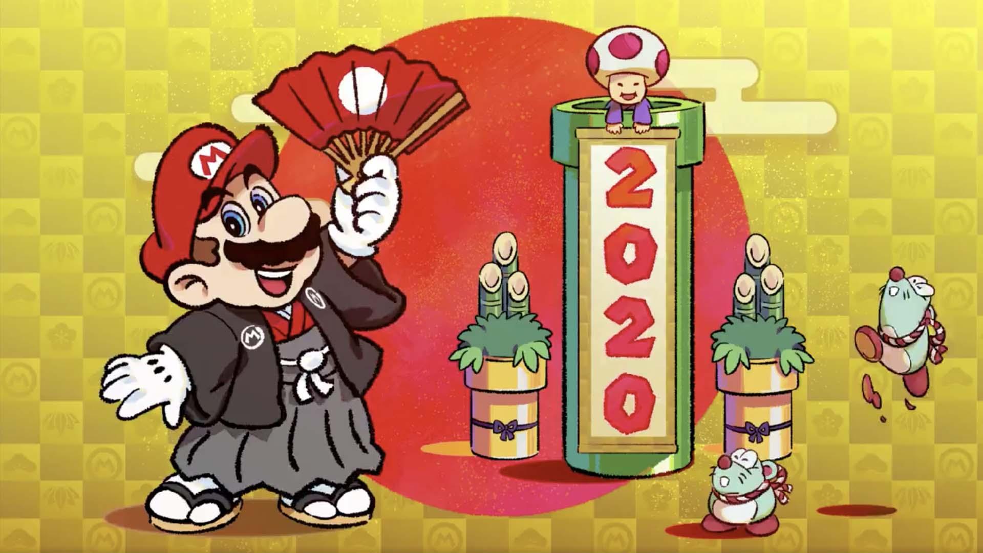 Buon 2020 da Nintendo!