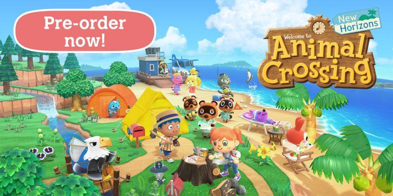 Animal Crossing: New Horizons live il pre-order digitale