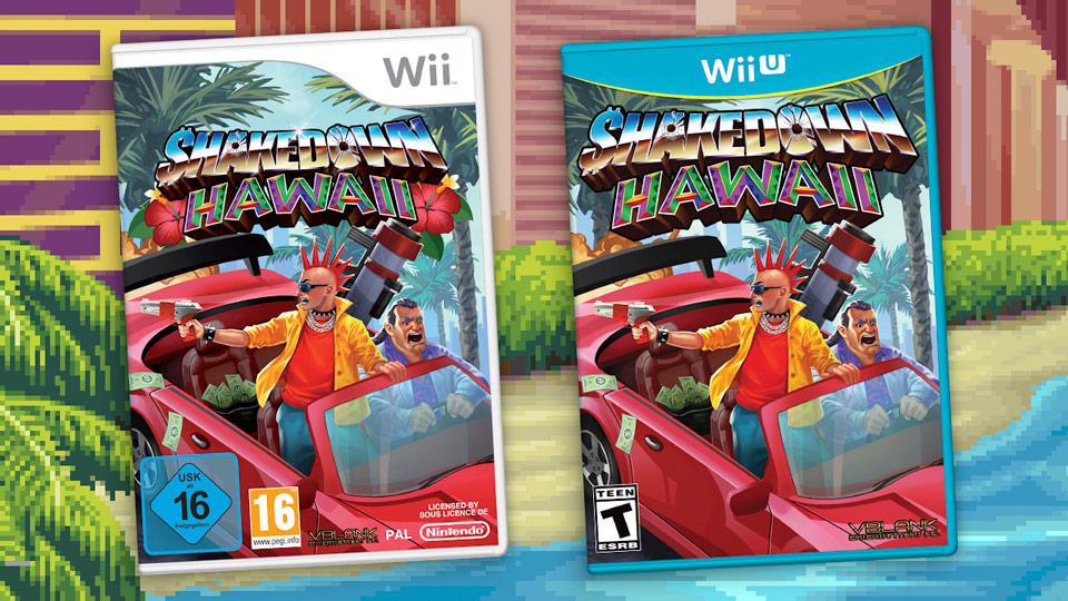 Shakedown: Hawaii arriva in versione fisica su Wii e Wii U. Si, avete letto bene!