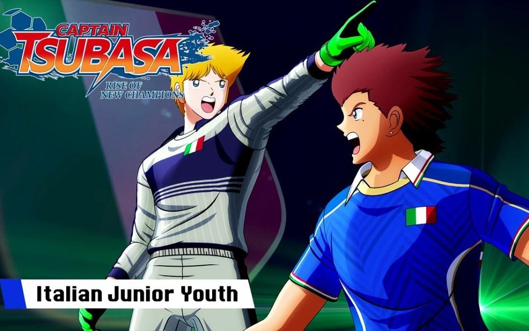Captain Tsubasa: Rise of New Champions, pubblicato un nuovo trailer dedicato alla nazionale italiana