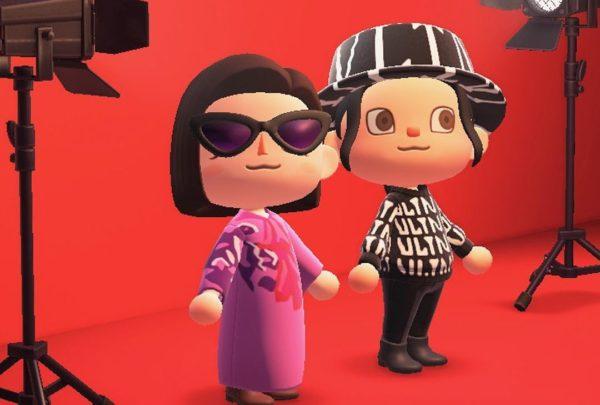 Valentino lancia una collezione su Animal Crossing: New Horizons