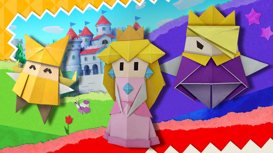 Super Smash Bros. Ultimate, in arrivo tre spiriti da Paper Mario: The Origami King