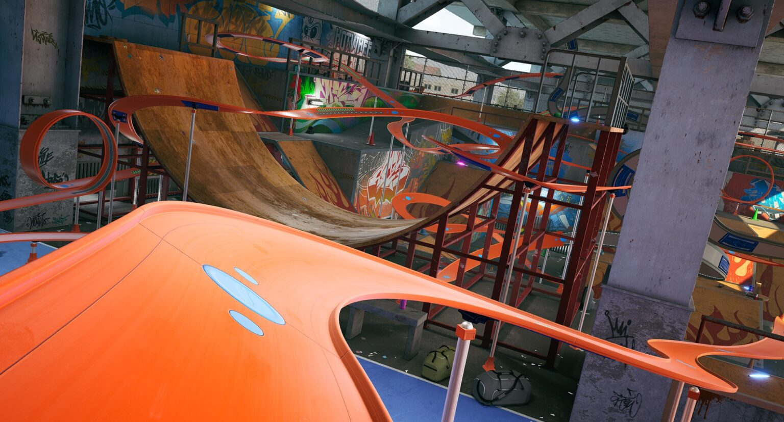 Lo Skatepark è la quarta location di Hot Wheels Unleashed