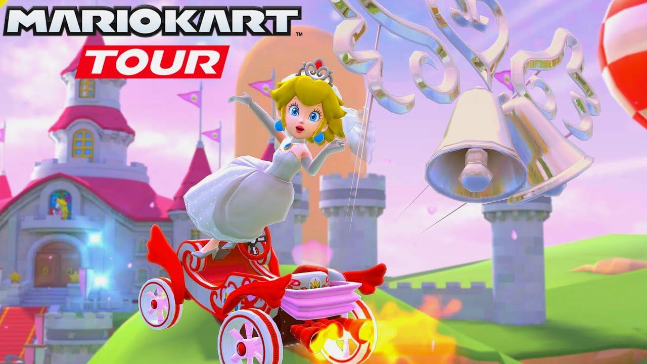 "Nintendo celebra il nuovo evento ""Wedding Tour"" di Mario Kart Tour con un trailer"