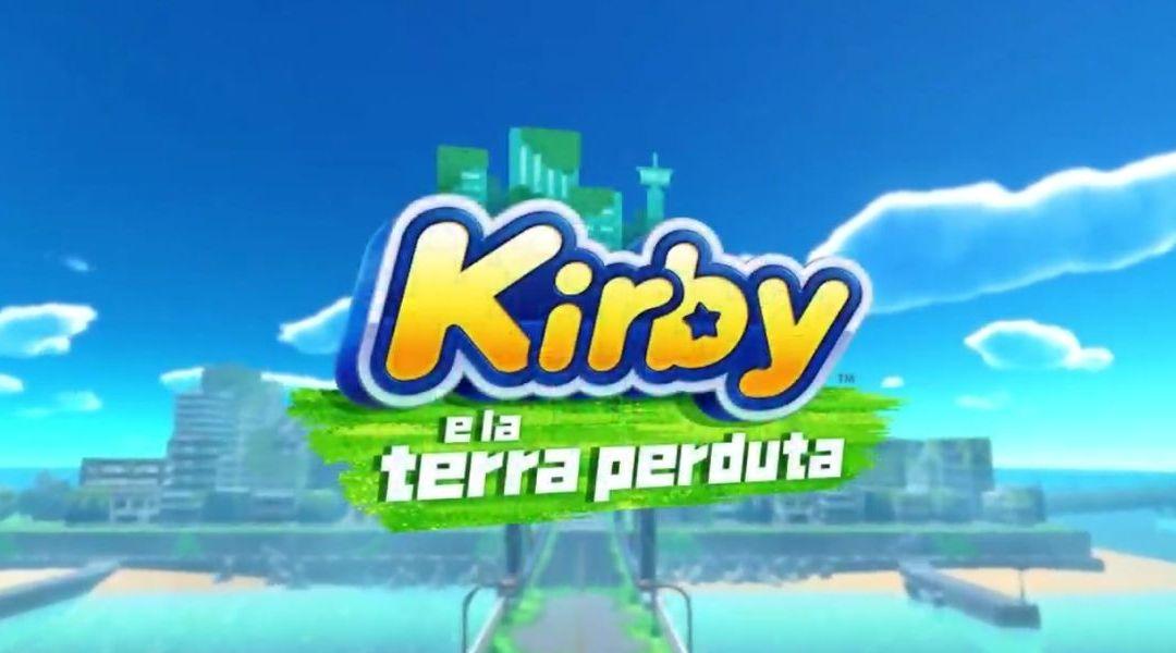Annunciato Kirby e la Terra Perduta, un nuovo capitolo 3D in arrivo su Nintendo Switch