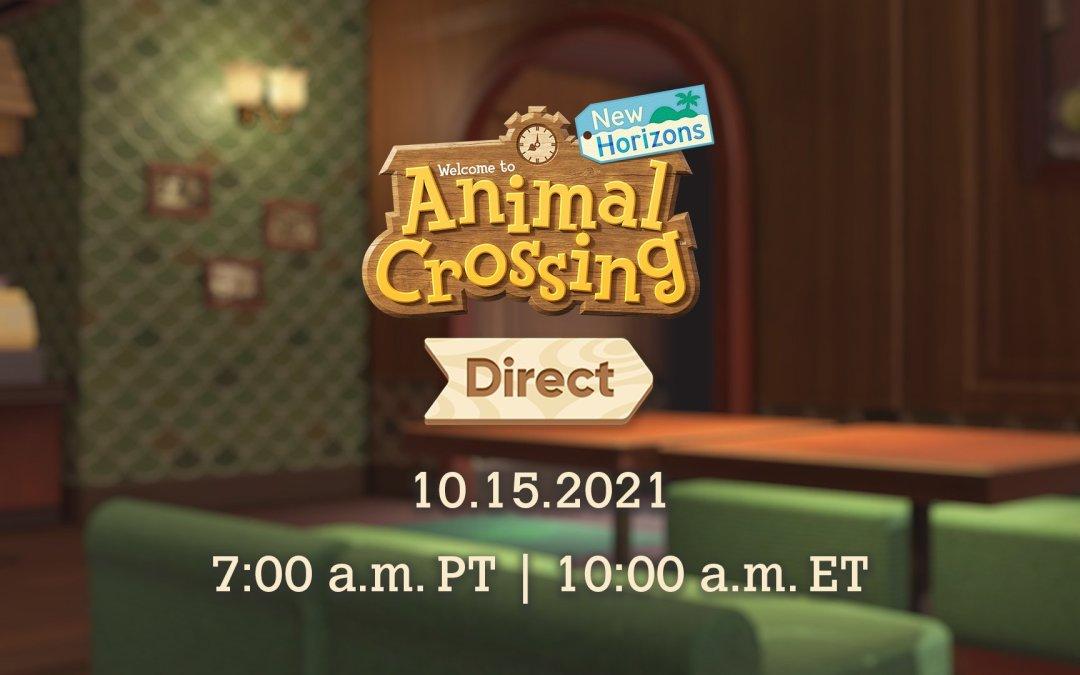 Animal Crossing: New Horizons, il 15 Ottobre arriva finalmente l'esclusivo Direct