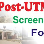 When is Post Utme 2020 exam and screening Starting for Schools