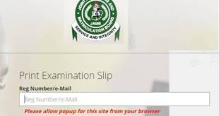Steps by Steps on how to go about your Jamb 2020 Reprinting and Jamb Centers