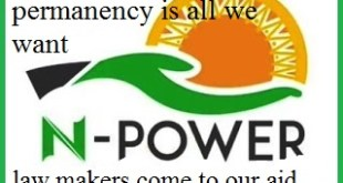 Government have to consider Permanency to all Npower 2016 Beneficiaries