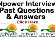 Npower Teach recruitment past question and Answers for free