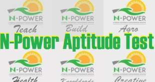Download Npower past questions free for Npower Batch C Applicants