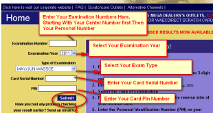 WAEC and GCE exams Result Checker 2020 how to check waec result