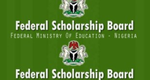 Federal Scholarship Board FSB BEA Nigeria Scholarship Awards 2020/2021