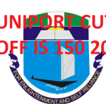 Uniport Releases Jamb Admission cut off Mark to 150 for 2021/2022 - All Courses