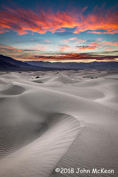 3rd Place Scenic - Desert Dune Sunset by John McKeon