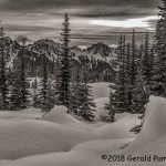 3rd Place Scenic - Tatoosh Sunset by Gerald Pumphrey
