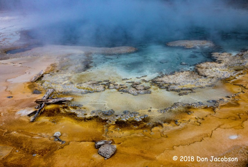 2nd Place Scenic - Solitary Geyser by Don Jacobson
