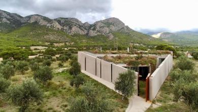 Photo of Ένα σπίτι-όνειρο στην Κορινθία, βασισμένο στο Πυθαγόρειο θεώρημα