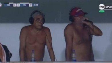 Photo of Δημοσιογράφοι έκαναν γυμνοί μετάδοση ποδοσφαιρικού αγώνα στην Αργεντινή