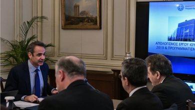 Photo of Συγχαρητήρια Μητσοτάκη σε Χρυσοχοίδη: Δεσμευτήκαμε για μεγαλύτερη ασφάλεια και το πετύχαμε