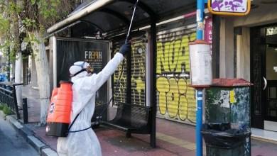 Photo of Καθημερινή απολύμανση σε 750 στάσεις λεωφορείων και τρόλεϊ της Αθήνας (Εικόνες)