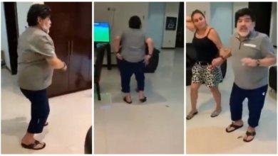 Photo of Βίντεο: Ο Μαραντόνα χορεύει και δείχνει τον…πισινό του!
