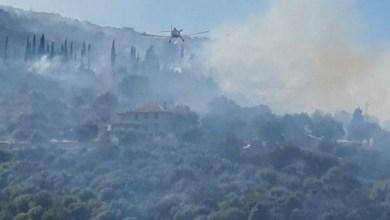 Photo of Ζάκυνθος: Μεγάλη φωτιά σε δασική έκταση κοντά σε κατοικίες