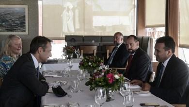 Photo of Γεύμα Μητσοτάκη – Ζάεφ με φόντο την Ακρόπολη: Συμφωνία για καλή εφαρμογή της Συμφωνίας των Πρεσπών