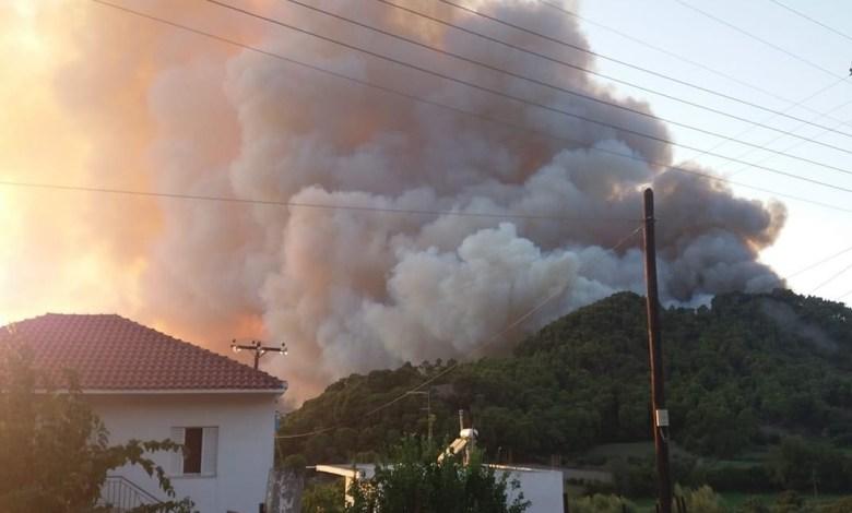 Photo of Ναύπακτος: Μεγάλη πυρκαγιά σε πευκόδασος στο Τρίκορφο