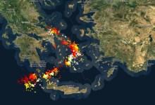 Photo of Ιανός: Σε Εύβοια και Αιγαίο το τόξο του μετώπου – Ο χάρτης της καταιγίδας στις 7 το πρωί