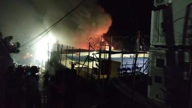 Photo of Σάμος: Ξανά φωτιά στο ΚΥΤ – Η δεύτερη μέσα σε λίγες ημέρες (Βίντεο)