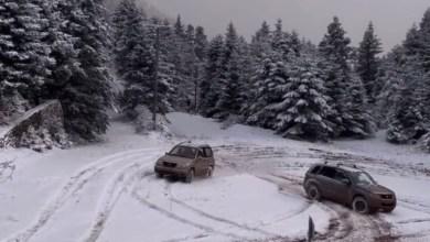 Photo of Drifting στην χιονισμένη Ορεινή Ναυπακτία – Εντυπωσιακό βίντεο