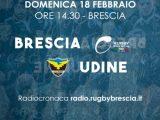 Rugby Brescia in casa contro Udine per la terza giornata della II Fase