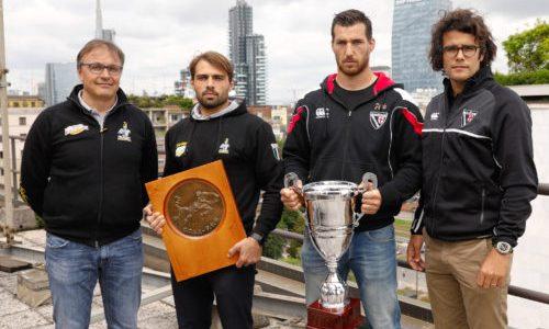 Rugby Eccellenza 2017-2018, Milano, NH Milano Touring Hotel, 15/05/2018, Conferenza Stampa di presentazione della Finale 2017-2018.Foto: Roberto Bregani/Fotosportit