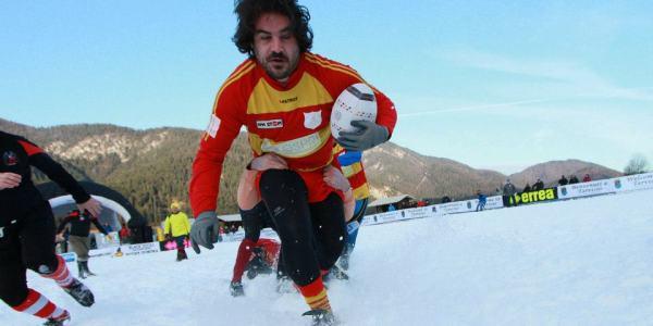 Tutto è pronto per la settima edizione del torneo di Snow Rugby di Tarvisio