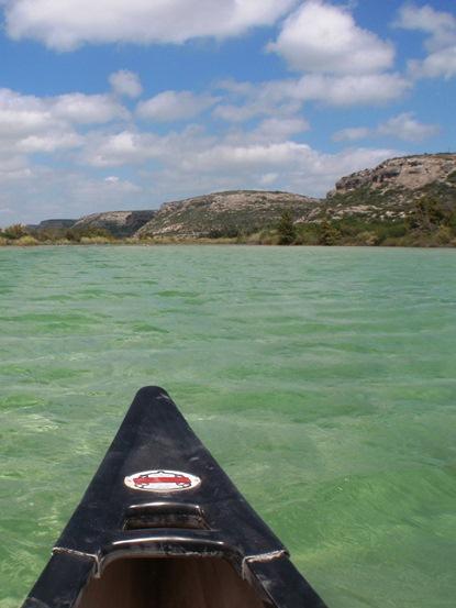 Paddling  Amistad National Recreation Area US National