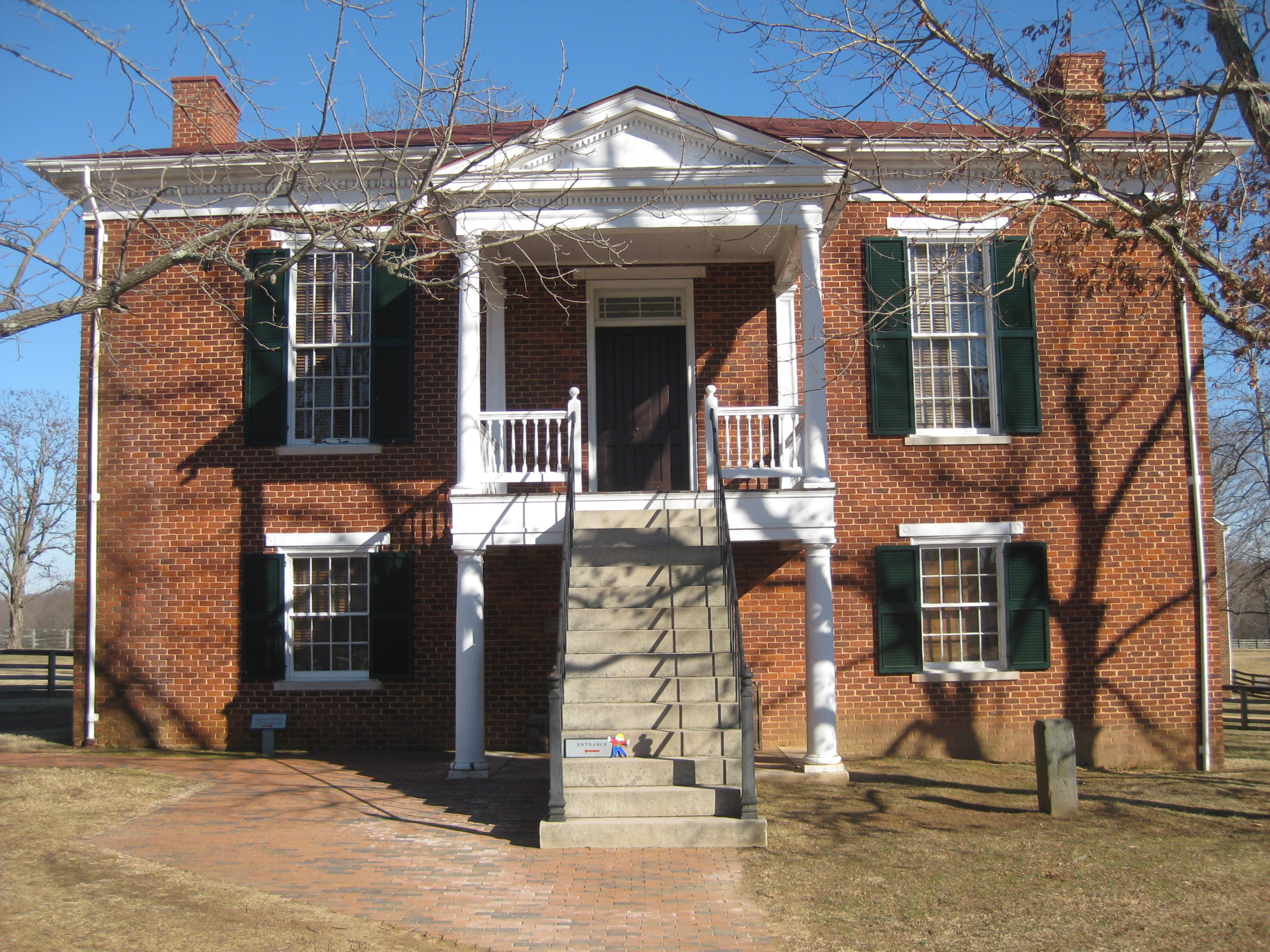 Historic Structures at Appomattox Court House  Appomattox Court House National Historical Park