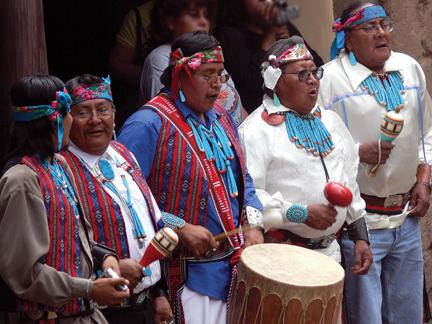 Pueblo People  Bandelier National Monument US National