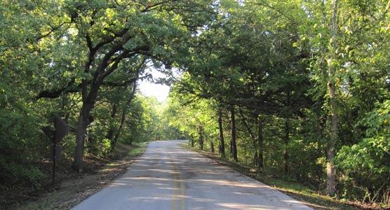 The Perimeter Road  Chickasaw National Recreation Area U