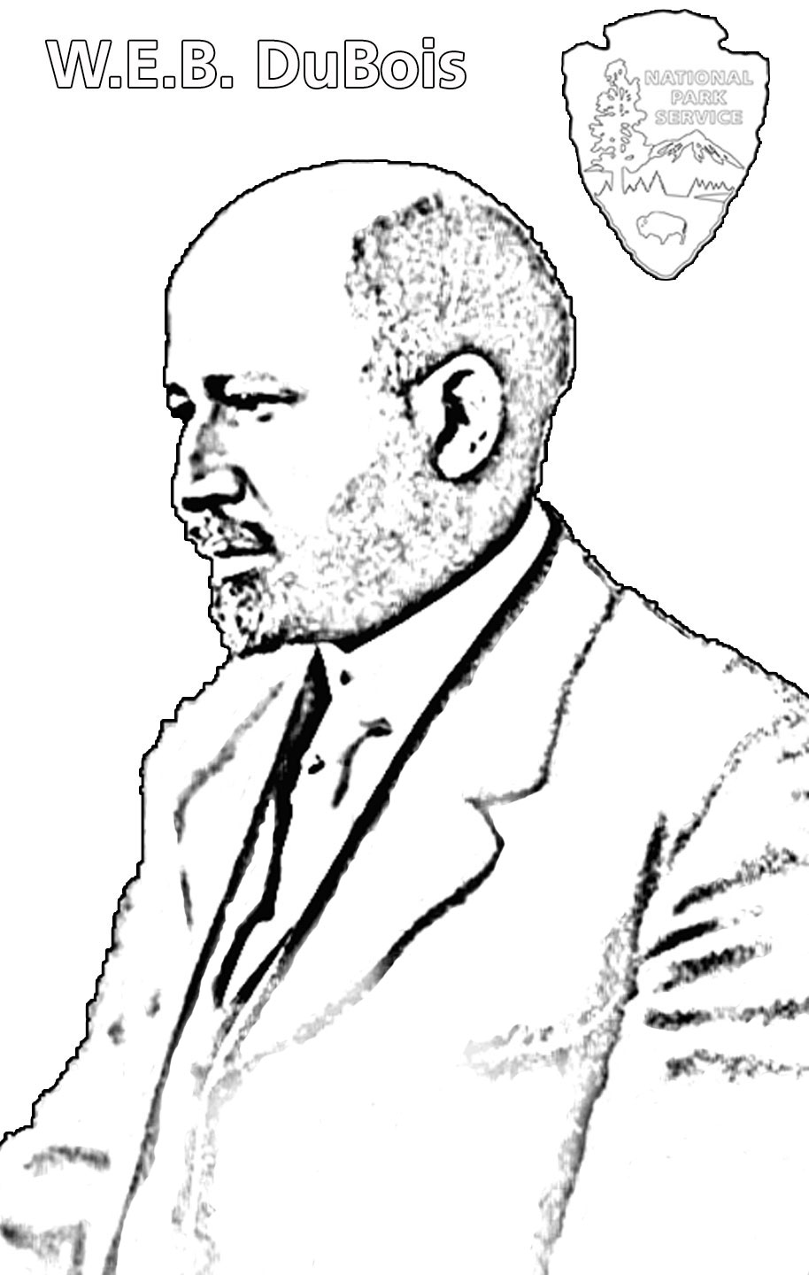 W.e.b. Dubois Coloring Pages Coloring Pages