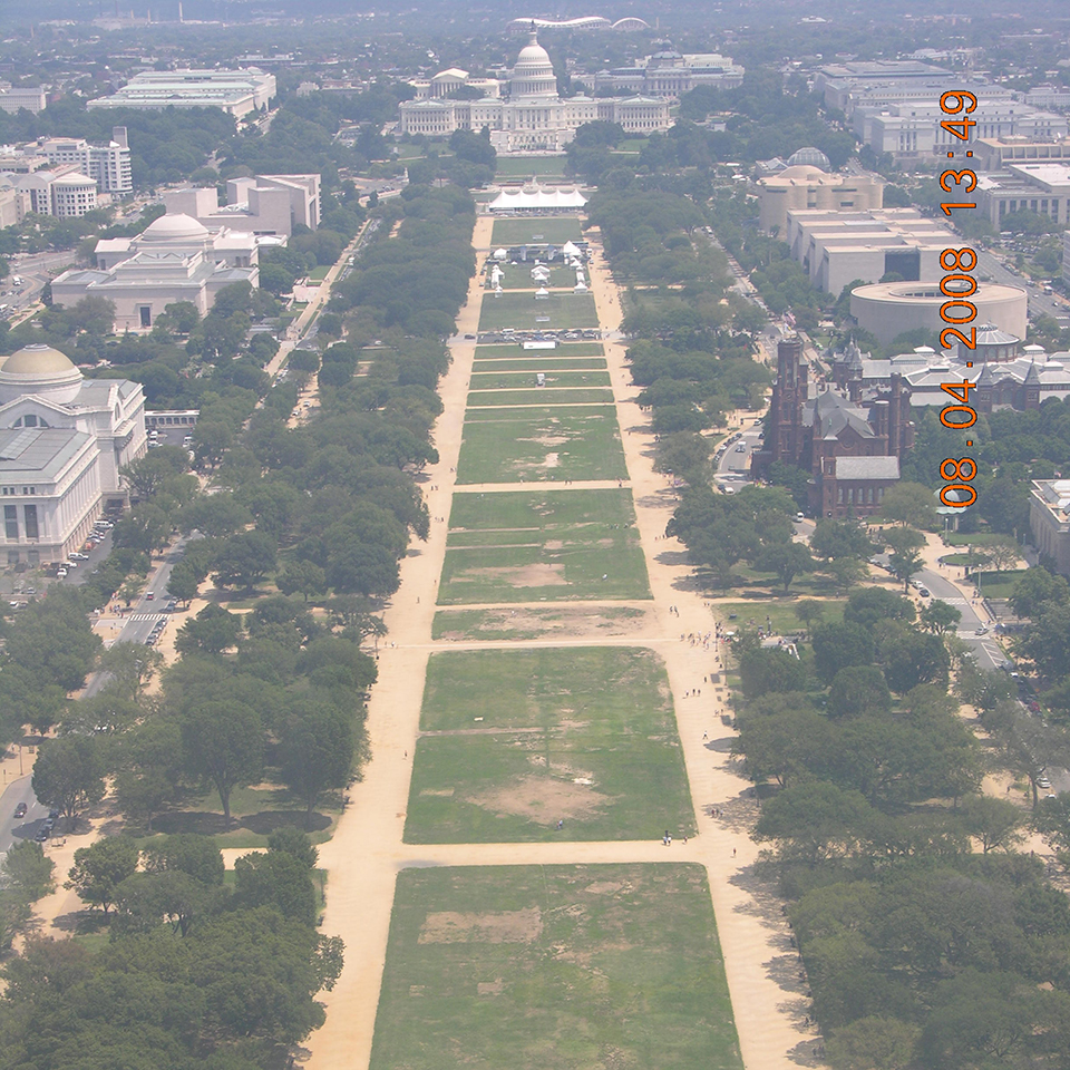 Restoring National Mall Turf U. Park Service