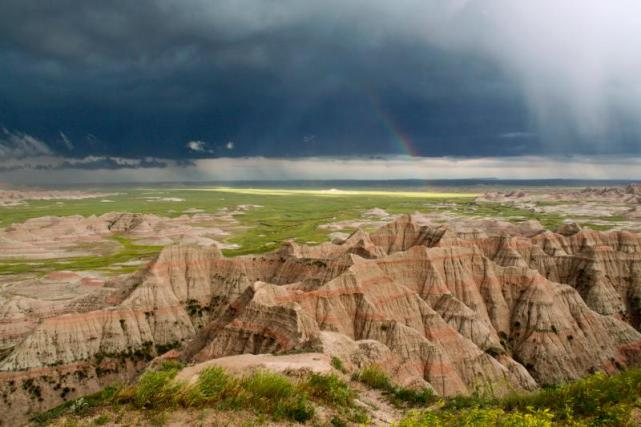 Rainbow During a Badlands Storm. Source: NPS.gov (https://i0.wp.com/www.nps.gov/common/uploads/photogallery/20150108/park/badl/F33ED138-EEAD-1B72-A9B6777B275839D1/F33ED138-EEAD-1B72-A9B6777B275839D1-large.jpg?resize=641%2C427&ssl=1)