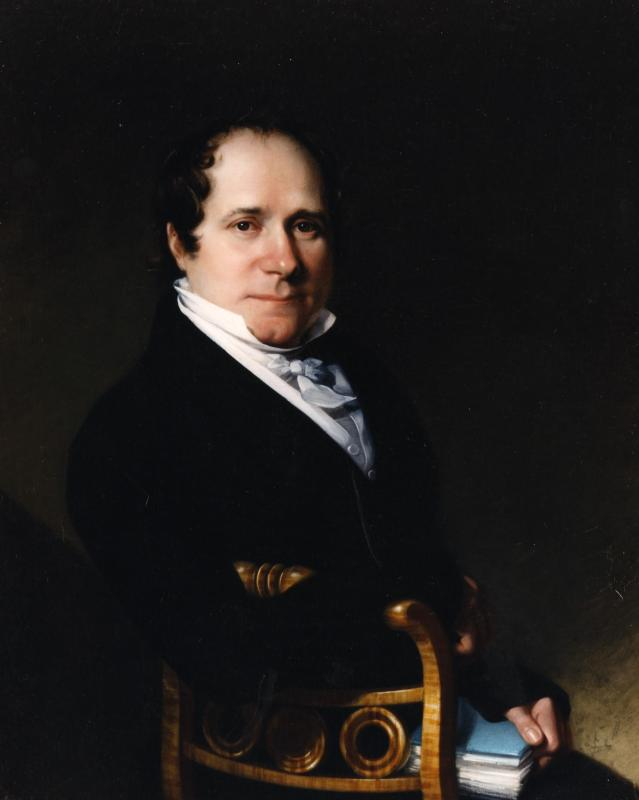 Thomas Johnson by Chester Harding, 1820