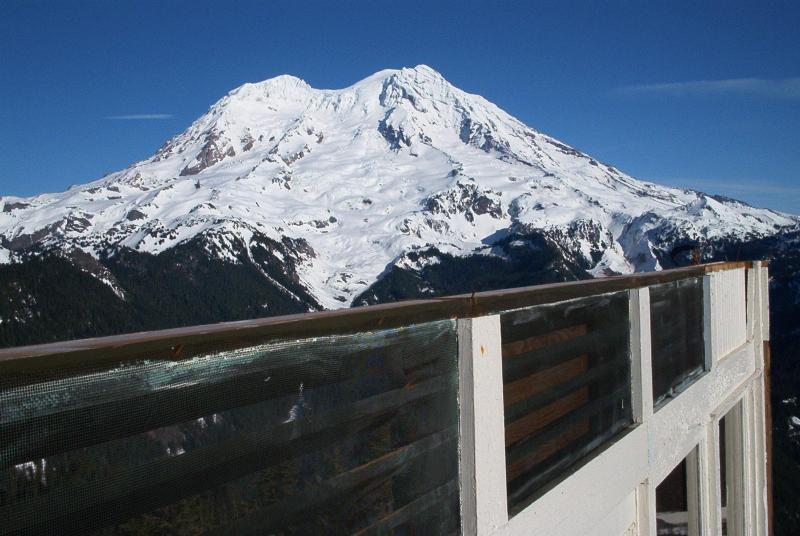 Mt. Rainier! It will kill you if it gets a chance.