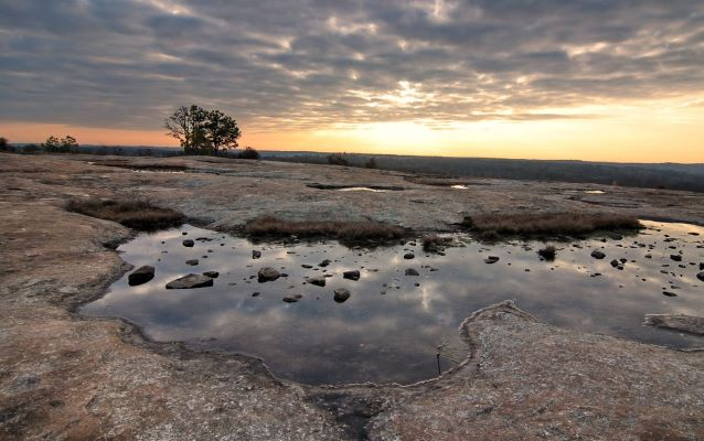 The arabia mountain nha offers 40000 acres for hiking, biking, fishing and geocaching. Arabia Mountain National Heritage Area U S National Park Service
