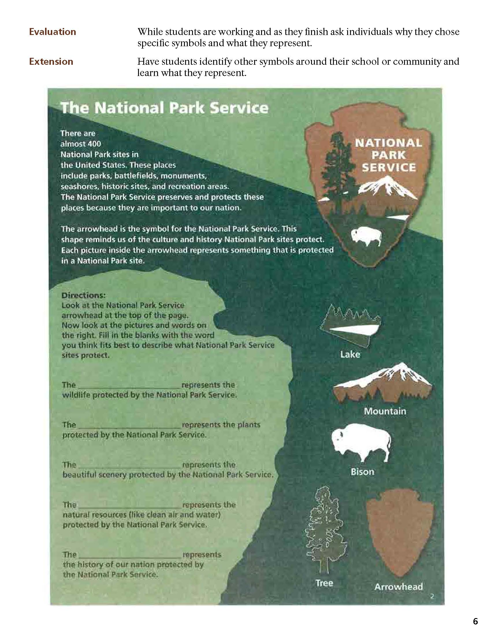 hight resolution of National Park Service Symbols - Teachers (U.S. National Park Service)