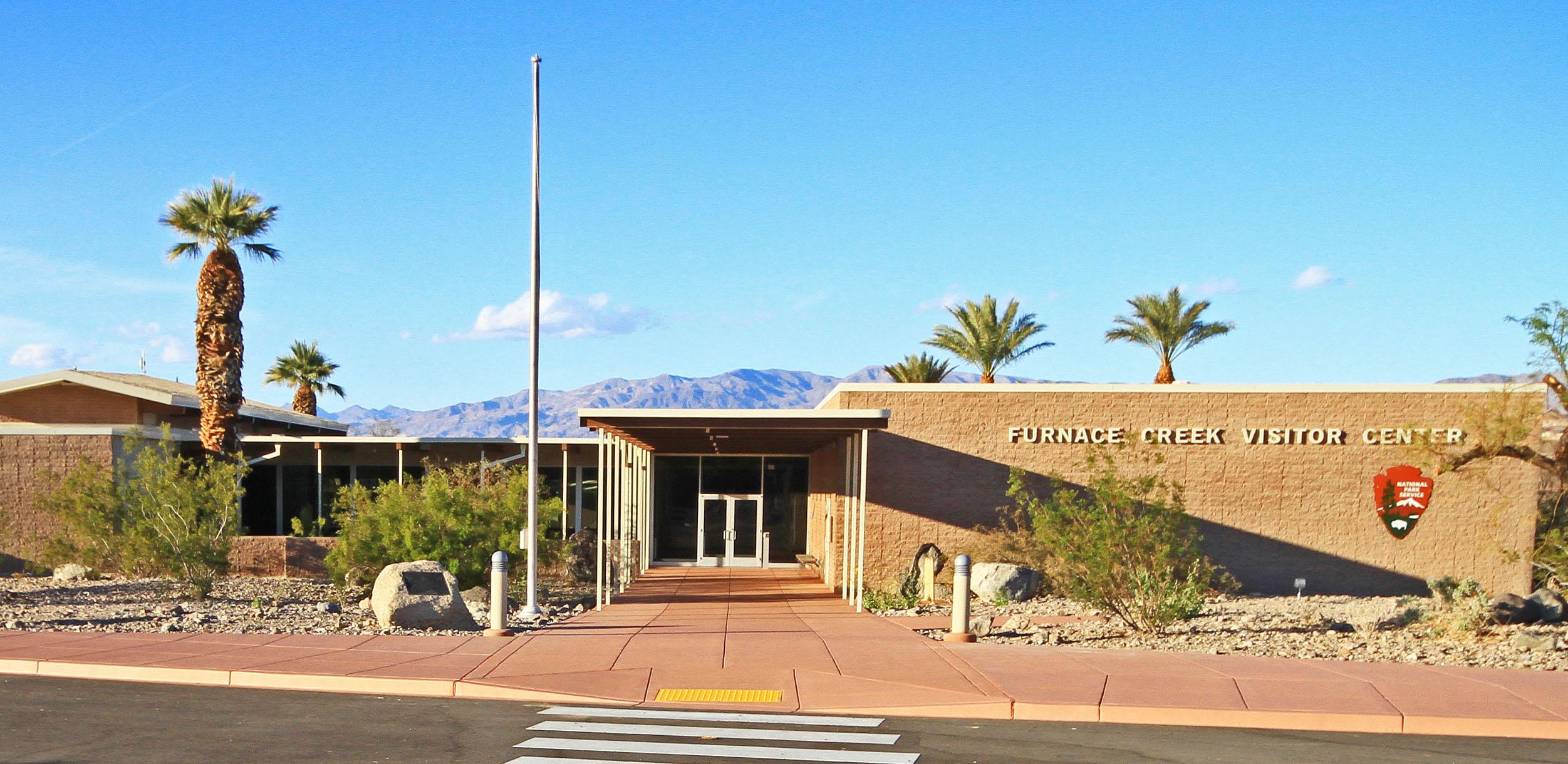 Death Valley National Parks Furnace Creek Visitor Center